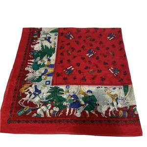 Anne Marie   Vintage French Provencal Scarf